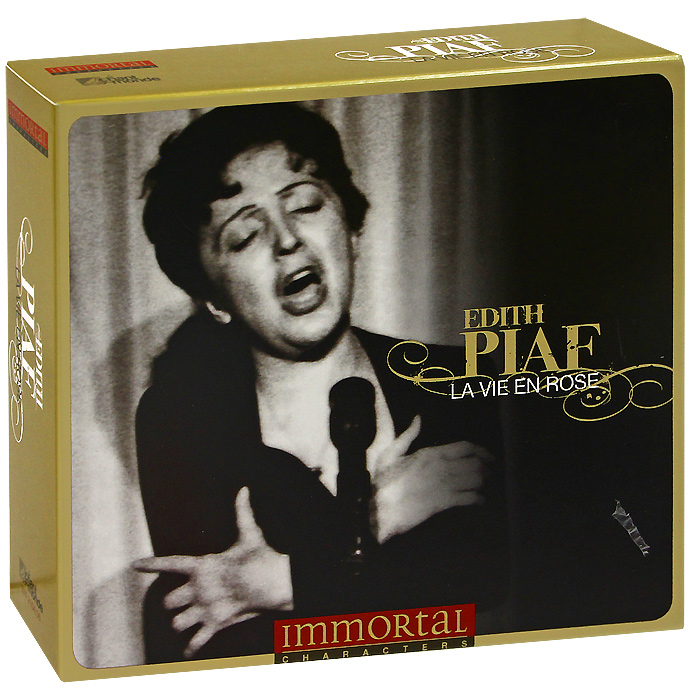 Эдит Пиаф Edith Piaf. La Vie En Rose (3 CD) музыка cd dvd cctv cd dsd