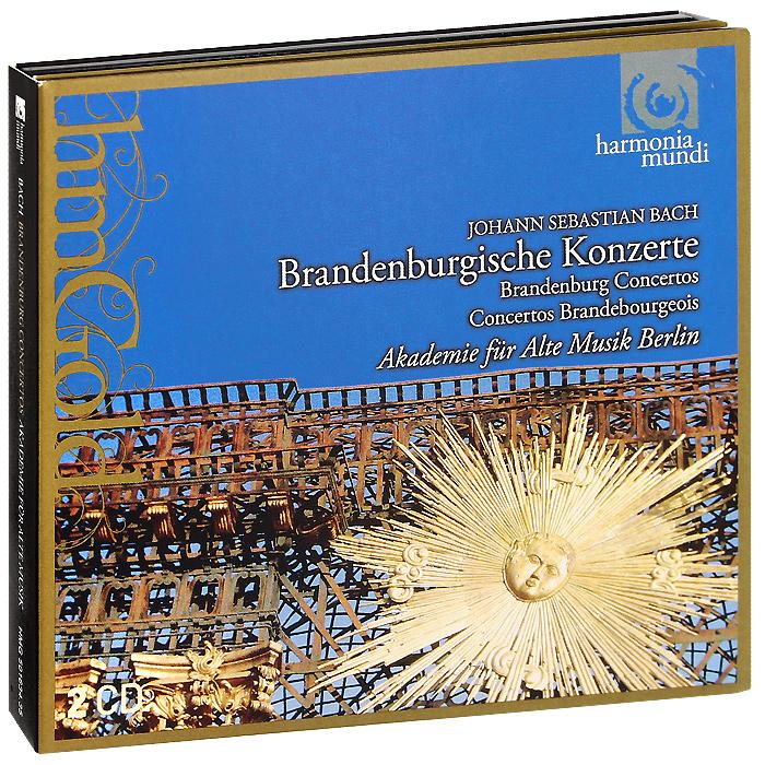 Akademie Fur Alte Musik Berlin Akademie Fur Alte Musik Berlin. Bach. Brandebourg Concertos (2 CD) cafe berlin 2 cd