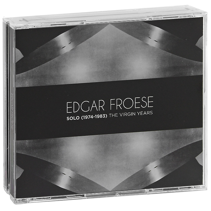 Edgar Froese.  Solo (1974-1983).  The Virgin Years (4 CD) Virgin Records Ltd.,ООО Музыка