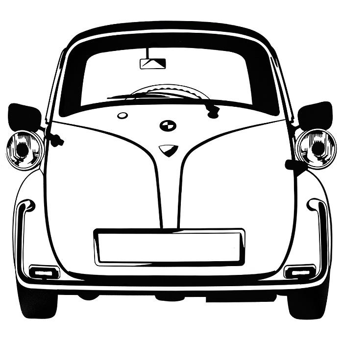 Стикер Paristic Изетта, 30 х 32 см910093Добавьте оригинальность вашему интерьеру с помощью необычного стикера Изетта. Изображение на стикере выполнено в виде силуэта старинного автомобиля Isetta - одного из самых успешных микроавтомобилей, производившихся в период после Второй мировой войны в годы.Необыкновенный всплеск эмоций в дизайнерском решении создаст утонченную и изысканную атмосферу не только спальни, гостиной или детской комнаты, но и даже офиса. Стикер выполнен из матового винила - тонкого эластичного материала, который хорошо прилегает к любым гладким и чистым поверхностям, легко моется и держится до семи лет, не оставляя следов.Сегодня виниловые наклейки пользуются большой популярностью среди декораторов по всему миру, а на российском рынке товаров для декорирования интерьеров - являются новинкой.Paristic - это стикеры высокого качества. Художественно выполненные стикеры, создающие эффект обмана зрения, дают необычную возможность использовать в своем интерьере элементы городского пейзажа. Продукция представлена широким ассортиментом - в зависимости от формы выбранного рисунка и от Ваших предпочтений стикеры могут иметь разный размер и разный цвет (12 вариантов помимо классического черного и белого). В коллекции Paristic -авторские работы от урбанистических зарисовок и узнаваемых парижских мотивов до природных и графических объектов. Идеи французских дизайнеров украсят любой интерьер: Paristic - это простой и оригинальный способ создать уникальную атмосферу как в современной гостиной и детской комнате, так и в офисе.В настоящее время производство стикеров Paristic ведется в России при строгом соблюдении качества продукции и по оригинальному французскому дизайну. Характеристики: Размер стикера: 32 см х 30 см. Производитель: Франция.Комплектация:-виниловый стикер;-инструкция.