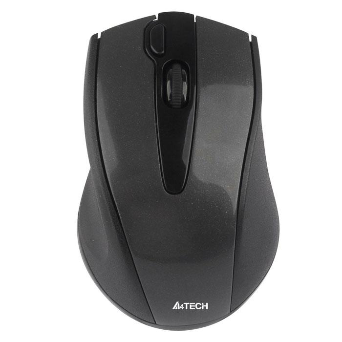 A4Tech G9-500F-1, Black мышьW G9-500F-1Беспроводная мышь A4Tech G9-500F.Уверенная работа на неровных поверхностях (инновационная технология V-Track):Усиленный оптический луч глубоко проникает в структуру поверхности, благодаря чему мышь быстро и четко работает на любых покрытиях. Если вы любите расположиться с ноутбуком на кровати или на ковре - эта мышь для вас. Мышь работает даже на объемной меховой поверхности!Одна кнопка - 16 функций:Если вы хотите сделать свою работу за компьютером более легкой и быстрой, назначьте все необходимые функции на правую кнопку мыши. В зависимости от направления движения руки она может выполнять до 16 различных функций, например, Увеличить/Уменьшить, Прокрутка влево/Прокрутка вправо, Копировать/Вставить и т.д. Для выполнения выбранной команды нужно провести мышью в заданном направлении, удерживая кнопку. Колесо 4D-прокрутки:Позволяет осуществлять навигацию в четырех направлениях. Радиус действия - 15 м:Используйте A4Tech G9-500 как пульт дистанционного управления при проведении презентаций, просмотре фильмов и т.д. 5 режимов разрешения (800/1000/1200/1600/2000 dpi):Выбирайте разрешение, наиболее подходящее для вашей работы и вашего монитора.Управление энергопотреблением:Высокоскоростная передача данных позволяет использовать мышь для компьютерных игр. В зависимости оттого, что именно более важно для вас в данный момент - экономное энергопотребление или обеспечение более плавного и четкого перемещения курсора - вы можете менять частоту опроса шины USB и устанавливать ее на уровне 125/250/500 Гц. Кнопка Двойной клик:С помощью этой кнопки вы можете открыть файлы и программы одним нажатием.Сверхминиатюрный наноприемник:Оптимальное решение для ноутбука! Однажды подключив наноприемник к USB-порту ноутбука можно больше не вынимать его - он не потеряется и не сломается при переноске. Также наноприемник можно хранить в специальном кармане в корпусе мыши. Наноприемник может быть перепрограммирован на работу с любыми другими мышами серий G3/G5/