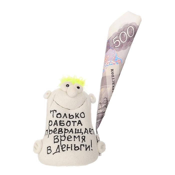 Фигурка декоративная Только работа превращает время в деньги!, в ассортименте фигурка есть такая профессия на работе сидеть эврика