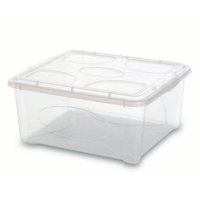 Контейнер Gensini с крышкой, универсальный, 18 л2206Универсальный контейнер Gensini прекрасно подойдет для хранения игрушек в детской комнате, белья перед стиркой, инструментов и многого другого. Он изготовлен из высококачественного прозрачного пластика. Благодаря прозрачности вы всегда сможете видеть содержимое контейнера и без труда отыщите нужную вам вещь. Контейнер закрывается крышкой. Удобный и легкий контейнер позволит вам хранить вещи в полном порядке, а благодаря современному дизайну он впишется в любой интерьер. Контейнер имеет компактные размеры, поэтому не занимает много места. Характеристики: Материал: пластик. Размер контейнера: 39 см х 36 см х 18 см. Объем контейнера:18 л. Производитель: Италия. Артикул: 2206.