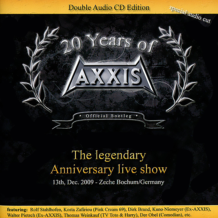 Axxis Axxis. 20 Years Of Axxis. The Legendary Anniversary Live Show (2 CD) e lov women casual walking shoes graffiti aries horoscope canvas shoe low top flat oxford shoes for couples lovers