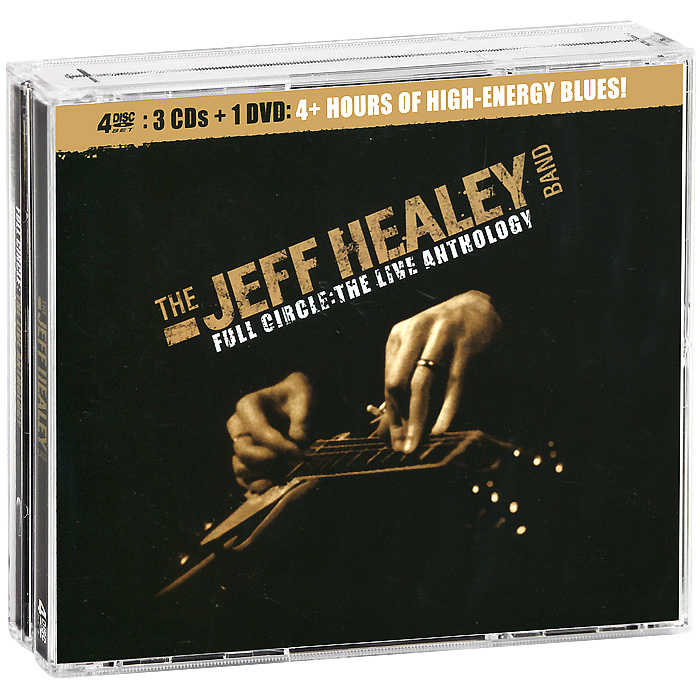 The Jeff Healey Band The Jeff Healey Band. Full Circle. The Live Anthology (3 CD + DVD) cd диск jeff healey the very best of 1 cd