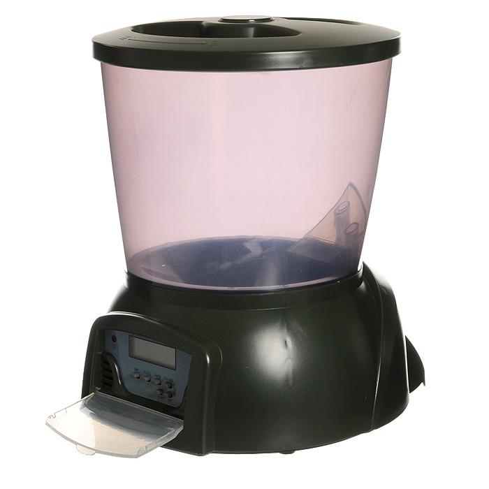 Кормушка автоматическая Feed-Ex для прудовых рыб, цвет: зеленый, 2 кг