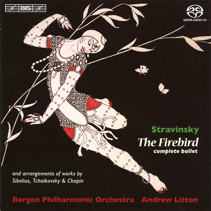 Bergen Philharmonic Orchestra,Эндрю Лайттон Bergen Philharmonic Orchestra, Andrew Litton. Stravinsky. L'Oiseau De Feu (Ballet Score) Etc. (SACD) vintage women flats old beijing mary jane casual flower embroidered cloth soft canvas dance ballet shoes woman zapatos de mujer