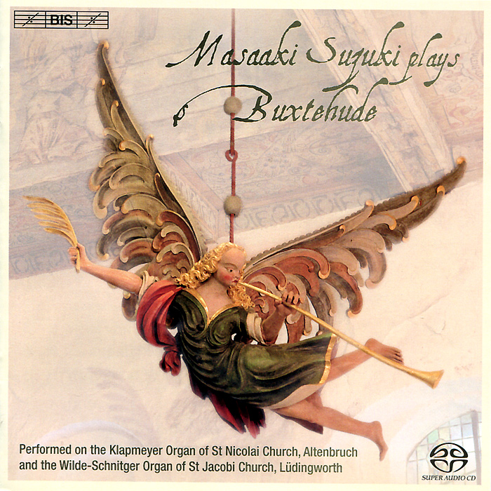 Масааки Сузуки Masaaki Suzuki Plays Buxtehude (SACD) музыка cd dvd sfr35740862 la folia sacd