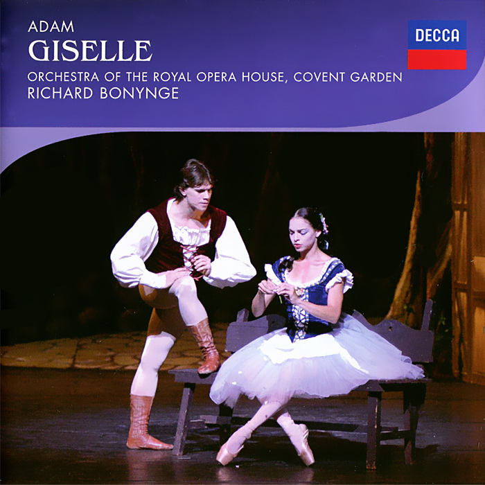 The Orchestra Of The Royal Opera House, Covent Garden,Ричард Бонинг Royal Opera House Orchestra, Richard Bonynge. Adam. Giselle (2 CD) gross jennifer r chaffee cathleen schaffner ingrid weinberg adam d richard artschwager