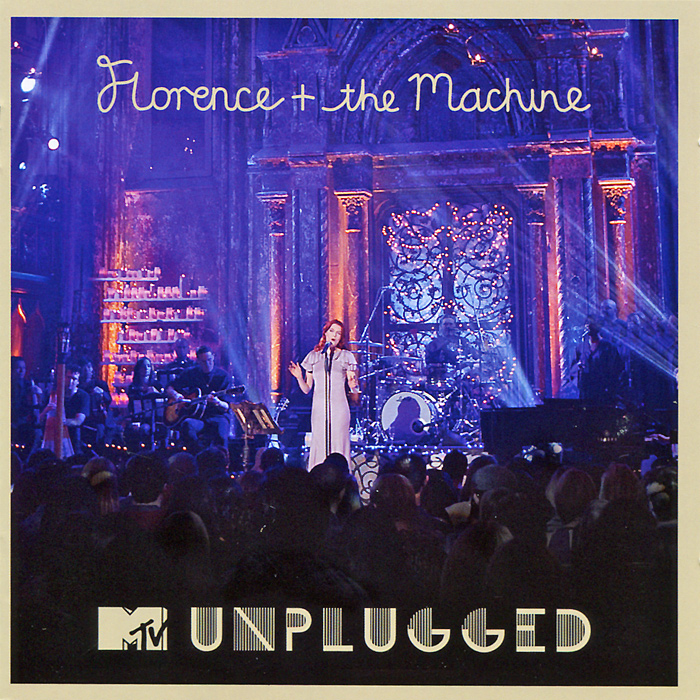 Florence + The Machine Florence + The Machine. MTV Unplugged. Deluxe Edition (CD + DVD) грегори портер gregory porter take me to the alley deluxe edition cd dvd