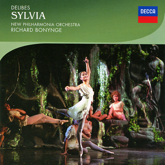 Richard Bonynge, New Philharmonia Orchestra. Delibes. Sylvia (2 CD)