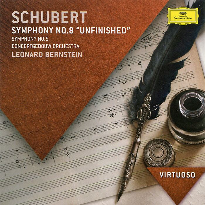 Леонард Бернштейн,Concertgebouw Orchestra Leonard Bernstein, Concertgebouw Orchestra. Schubert.