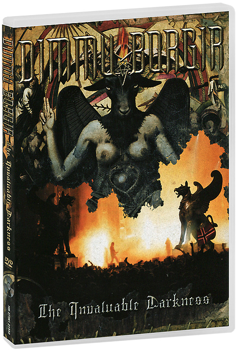 Dimmu Borgir: The Invaluable Darkness (2 DVD) dimmu borgir dimmu borgir in sorte diaboli deluxe edition cd dvd