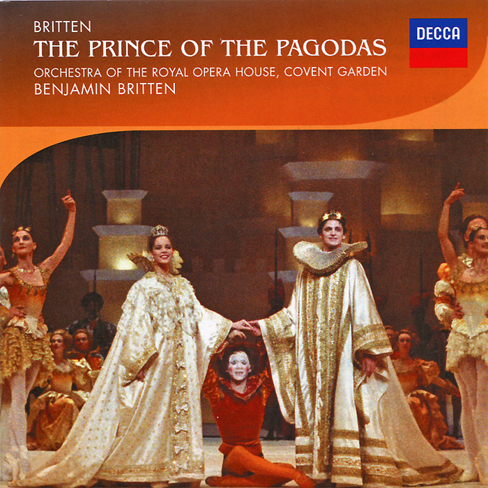 Бенджамин Бриттен,The Orchestra Of The Royal Opera House, Covent Garden Orchestra Of The Royal Opera House, Benjamin Britten. The Prince Of The Pagodas (2 CD) dumas alexandre the royal life guard or the flight of the royal family
