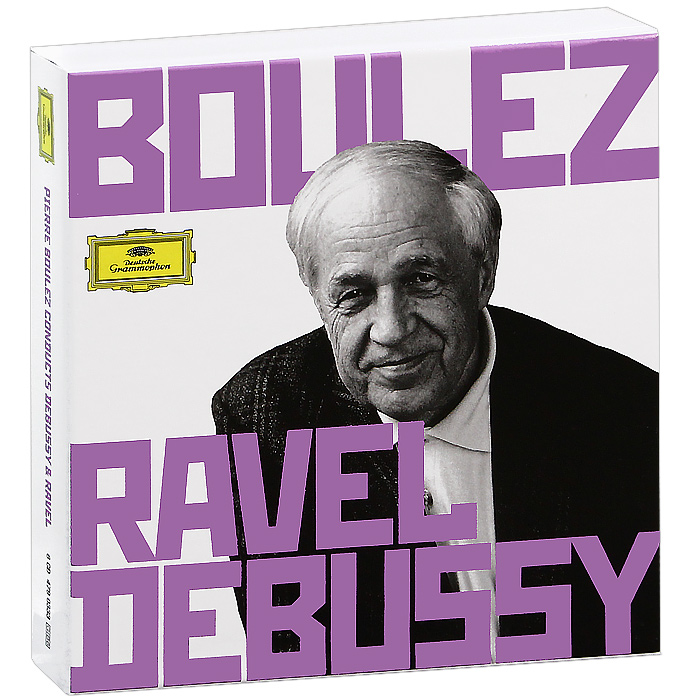 Pierre Boulez Conducts Debussy & Ravel (5 CD) otter cle ravel sheh
