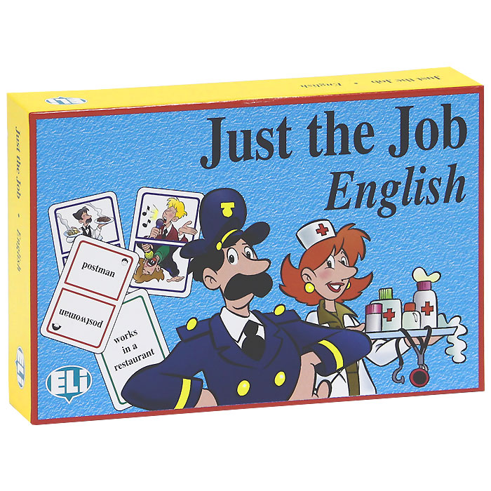 Just the Job (набор из 120 карточек) english with crosswords 3 dvdrom