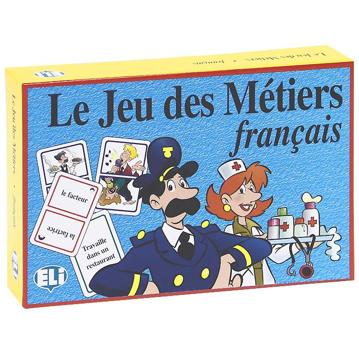 Le jeu des metiers (набор из 120 карточек) games [a1] le grand jeu des verbes
