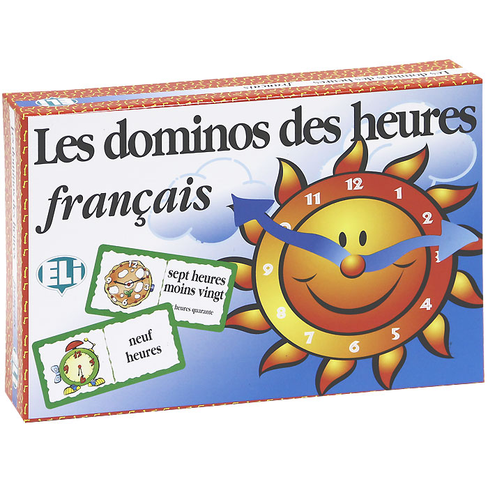 Les dominos des heures (набор из 48 карточек) games [a1] les dominos des heures
