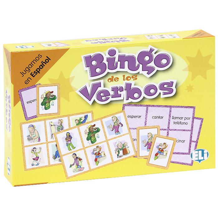 Bingo de los verbos (набор из 102 карточек) el juego de ripper