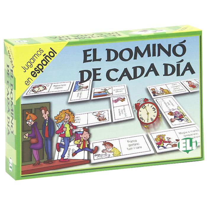 El Domino De Cada Dia (набор из 48 карточек) bingo de los verbos набор из 102 карточек
