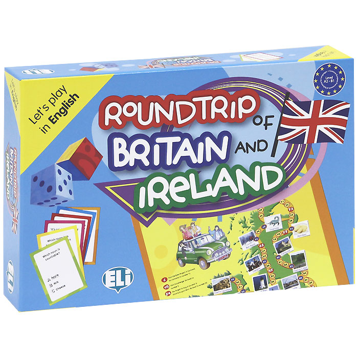 Roundtrip of Britain and Ireland (набор из 132 карточек) hunting tactics molle plate carrier jpc vest military role playing game gear