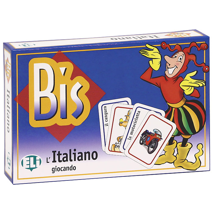 Bis Italiano (набор из 120 карточек) коврик домашний sunstep цвет кремовый 120 х 170 х 4 см