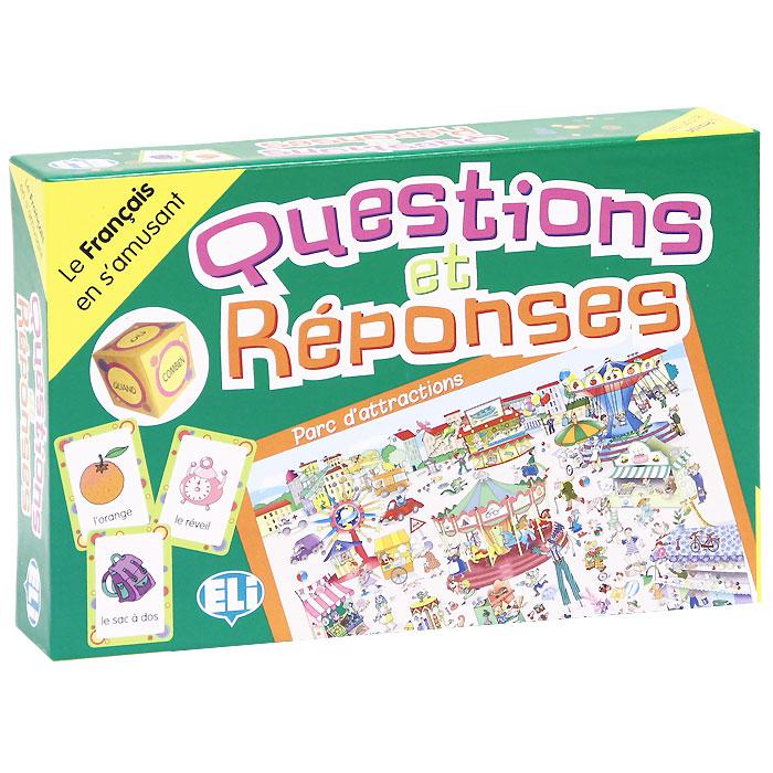 Questions et Reponses (набор из 66 карточек) games questions et reponses a2 b1