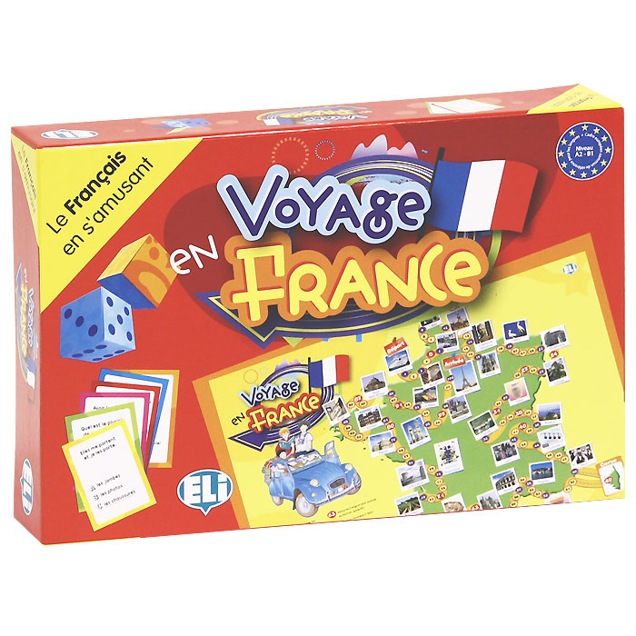Voyage en France (набор из 66 карточек) games voyage en france a2 b1