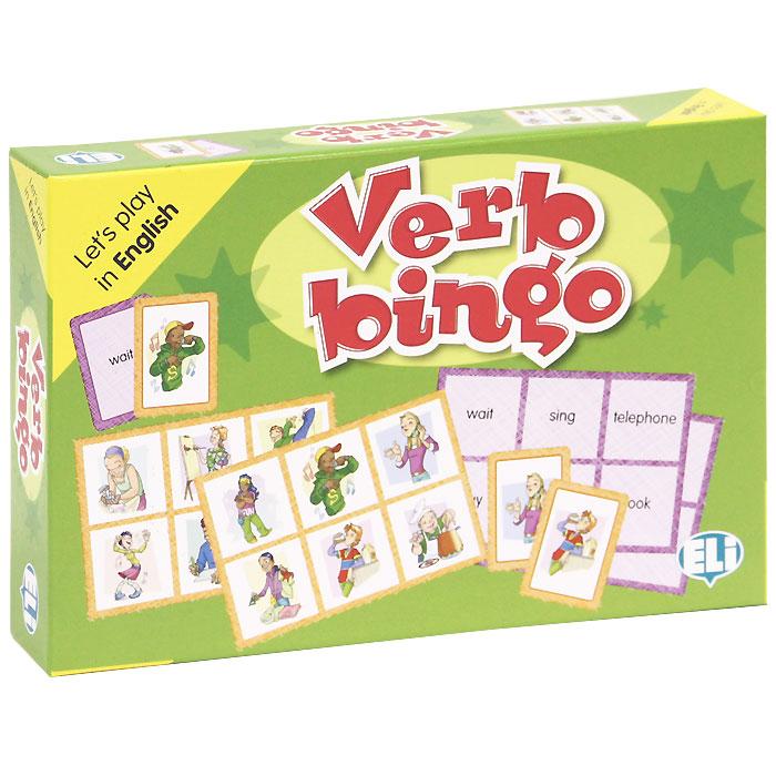Verb Bingo (набор из 102 карточек) games verb bingo digital edition