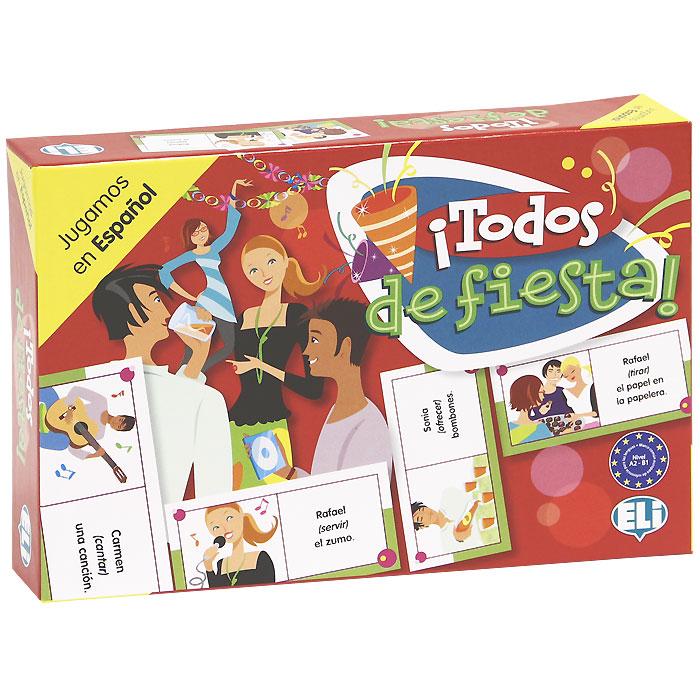 !Todos de fiesta! (набор из 48 карточек) el juego de ripper