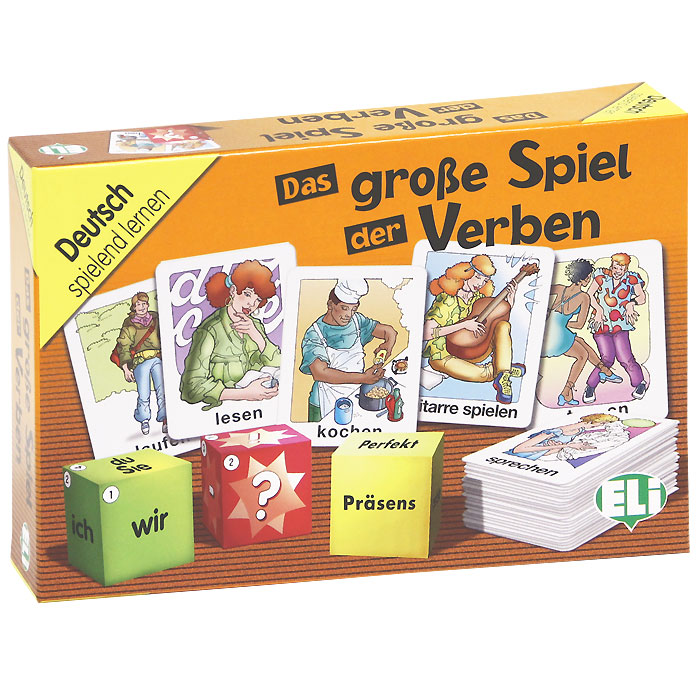 Das grosse Spiel der Verben (набор из 100 карточек) weise toys 1 32 scale die cast metal model fendt favorit 926 vario