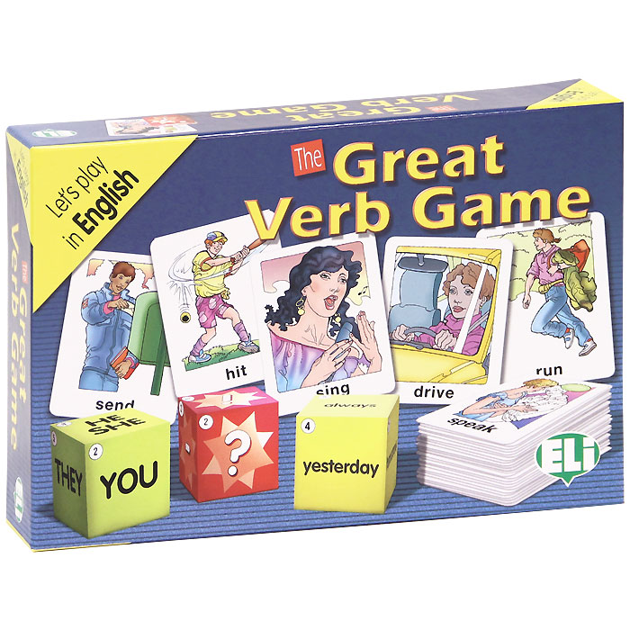 The Great Verb Game (набор из 100 карточек)