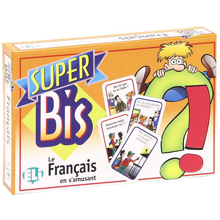 Super Bis: Le Francais en S'amusant (набор из 120 карточек) games questions et reponses a2 b1