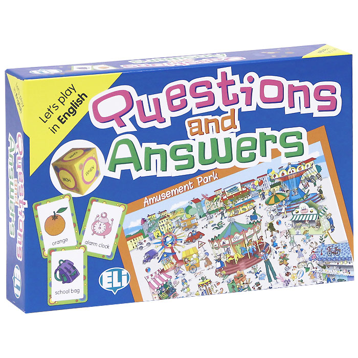 Questions and Answers (набор из 66 карточек) games [a2 b1] questions and answers