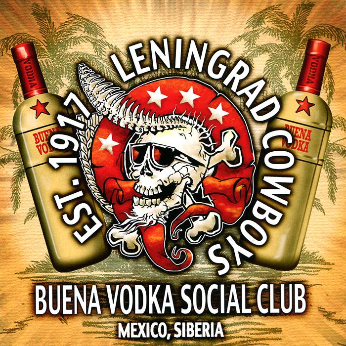 Leningrad Cowboys Leningrad Cowboys. Buena Vodka Social Club футболка anti social social club