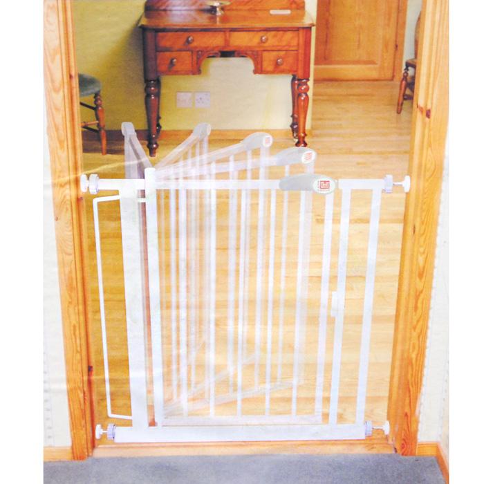 Ворота безопасности  Red Castle Auto-Close , цвет: белый, 75-82 см x 75,5 см -  Блокирующие и защитные устройства