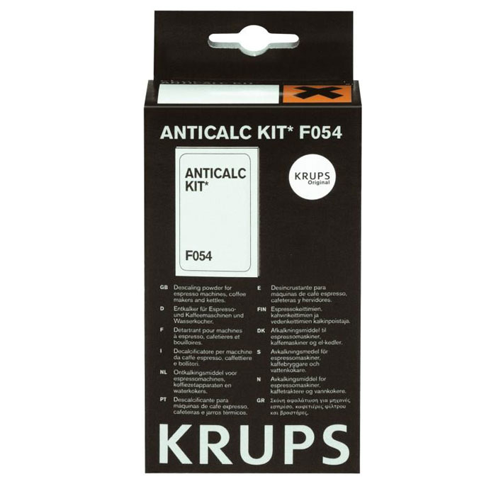 Krups F05400 Порошок для удаления накипи KRUPS F 054 (40г) кофеварка рожкового типа krups xp344010