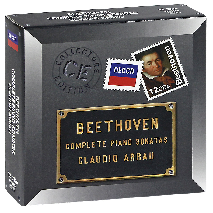 Клаудио Аррау Claudio Arrau. Beethoven. Complete Piano Sonatas (12 CD) piano sonatas cd
