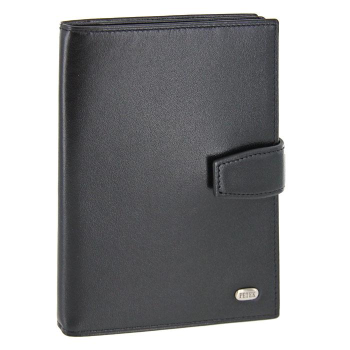 Обложка для паспорта и автодокументов Petek, цвет: черный. 595.000.01618Обложка для паспорта и автодокументов Petek выполнена из натуральной кожи черного цвета. Внутри состоит из отделения для паспорта, шести отделений из прозрачного пластика для автодокументов и двух сетчатых карманов. Обложка закрывается небольшим хлястиком на кнопку.Обложка упакована в фирменную коробку с логотипом фирмы. Такая обложка станет замечательным подарком человеку, ценящему качественные и практичные вещи. Характеристики: Материал: натуральная кожа, текстиль. Цвет: черный. Размер обложки (в закрытом виде): 13,5 см x 10 см х 1,5 см. Размер упаковки: 15 см x 11,5 см x 2,5 см. Изготовитель: Турция. Артикул: 595.4000.10. Фирма PETEK была основана в 1855 году в Македонии, в городе Велес. Товары, выпускаемые под маркой PETEK, всегда отличаются высоким качеством. Все изделия выполнены из качественной кожи. Вы сможете найти все, что вам может понадобиться: начиная от футляра для ключей и портмоне, до сумок, портфелей и ремней.Аксессуары марки PETEK - качество и традиции, проверенные временем.