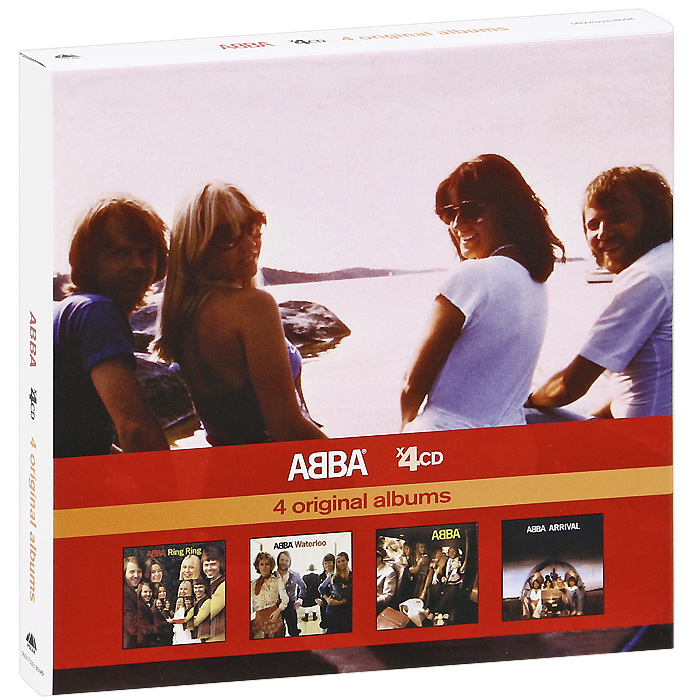 ABBA ABBA. 4 Original Albums (4 CD) сумка printio guardians of the galaxy