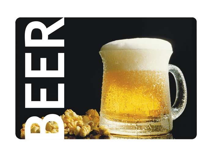 Салфетка под горячее Пиво, 44 см х 30 см