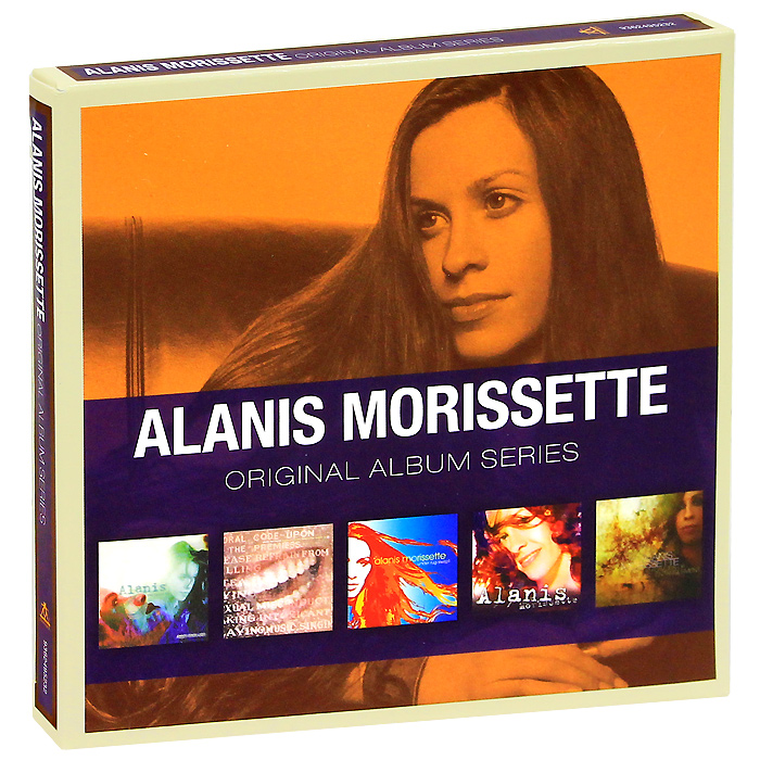 Alanis Morissette. Original Album Series (5 CD)
