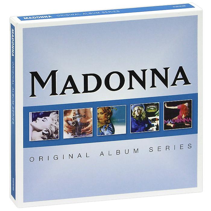 Мадонна Madonna. Original Album Series (5 CD) cd nickelback original album series