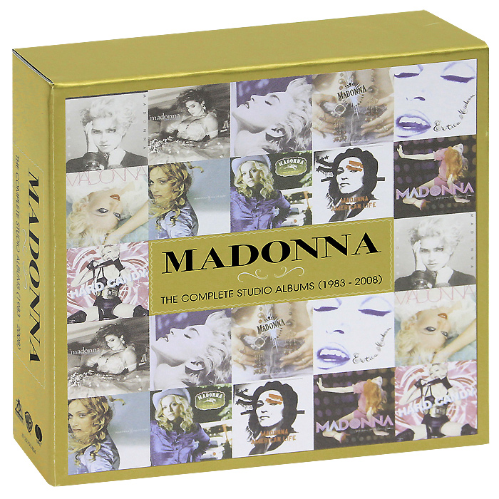 Мадонна Madonna. The Complete Studio Albums (1983-2008). Limited Edition (11 CD) roxy music roxy music the complete studio albums 8 lp box