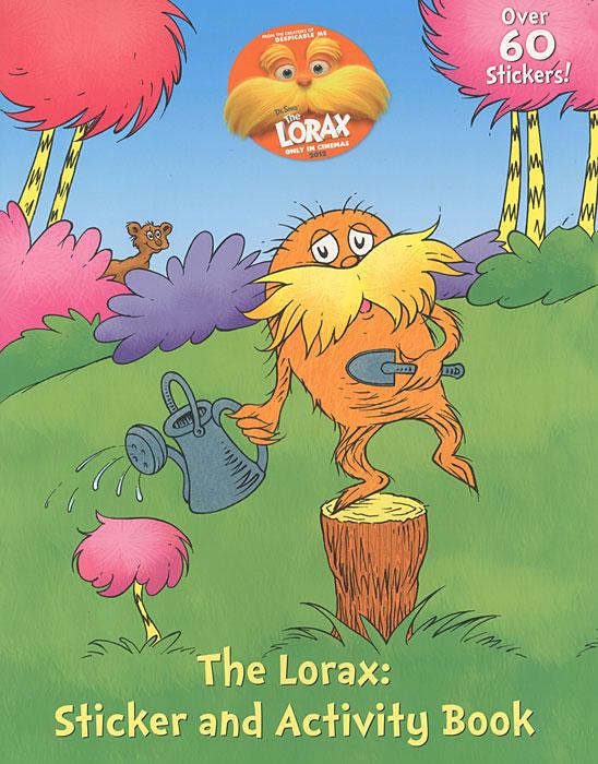 Купить The Lorax Sticker Activity Book (+наклейки),