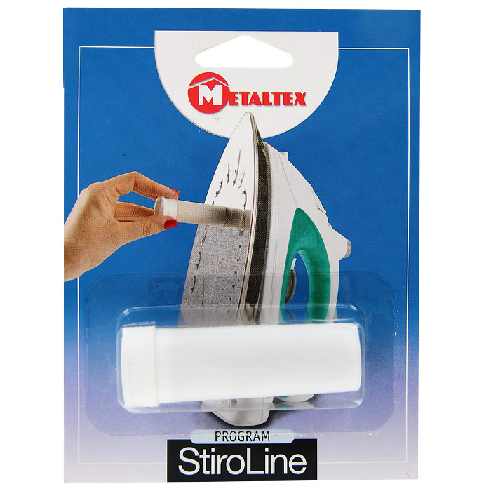 Карандаш для очистки утюгов Metaltex41.84.53Карандаш для чистки утюгов Metaltex - идеальное средство для удаления загрязнений с подошвы утюга. Карандаш идеально чистит и предохраняет рабочую поверхность утюга, улучшает скольжение по ткани.Характеристики:Размер карандаша: 7,5 см x 2,5 см x 2,5 см. Размер упаковки: 16 см x 12 см x 3 см. Артикул: 41.84.53.