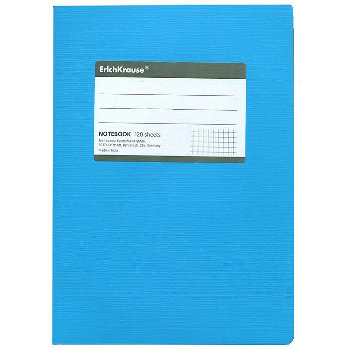 Тетрадь Fluor, цвет: голубой, 120 листов, А531478Тетрадь Fluor в клетку из белой офсетной бумаги послужит прекрасным местом для различных записей. Обложка тетради выполнена из тонкого картона с покрытием. Такая тетрадь подойдет как школьнику, так и студенту. Характеристики:Размер тетради: 14,5 см х 20,5 см х 1,1 см. Формат: А5. Количество листов: 120. Материал: картон, бумага. Изготовитель: Индия.