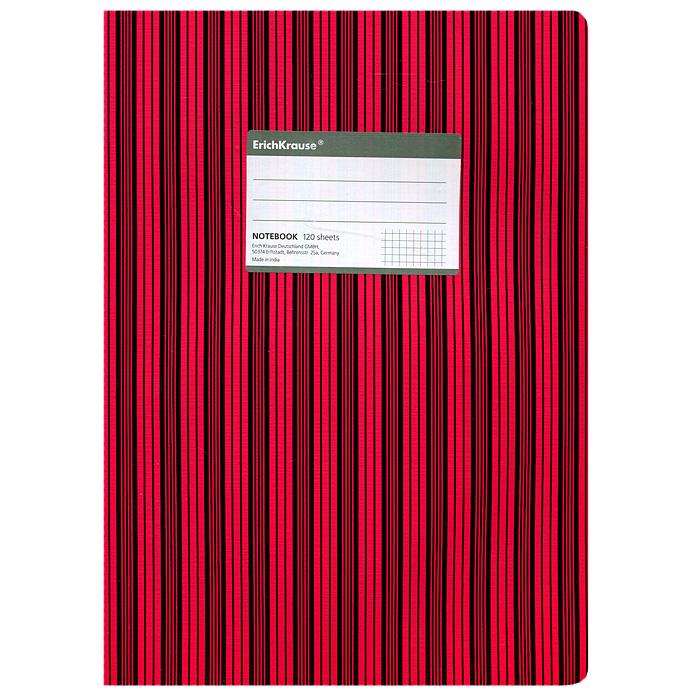 Тетрадь Two Colors, цвет: черный, красный, 120 листов, А427979Тетрадь Two Colors в клетку из белой офсетной бумаги послужит прекрасным местом для различных записей. Обложка тетради выполнена из тонкого картона с покрытием. Такая тетрадь подойдет как школьнику, так и студенту. Характеристики:Размер тетради: 20,5 см х 29 см х 1,1 см. Формат: А4. Количество листов: 120. Материал: картон, бумага. Изготовитель: Индия.