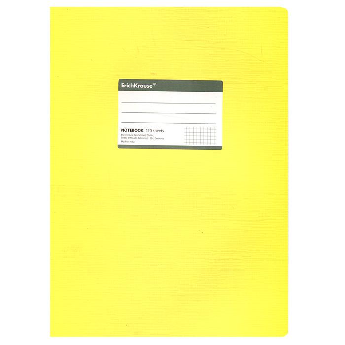 Тетрадь Fluor, цвет: желтый, 120 листов, А431482Тетрадь Fluor в клетку из белой офсетной бумаги послужит прекрасным местом для различных записей. Обложка тетради выполнена из тонкого картона с покрытием. Такая тетрадь подойдет как школьнику, так и студенту. Характеристики:Размер тетради: 20,5 см х 29 см х 1,1 см. Формат: А4. Количество листов: 120. Материал: картон, бумага. Изготовитель: Индия.