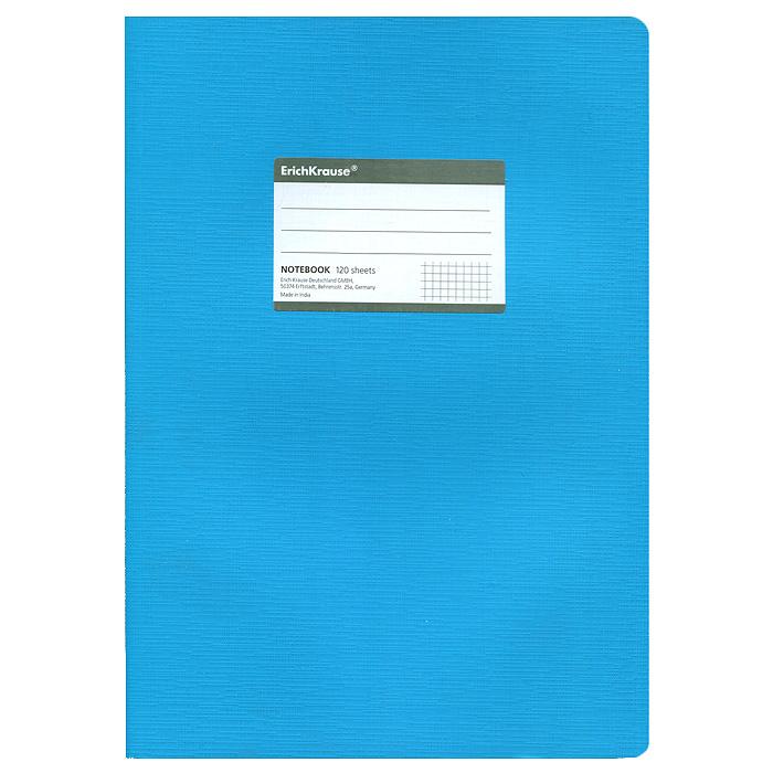 Тетрадь Fluor, цвет: голубой, 120 листов, А431486Тетрадь Fluor в клетку из белой офсетной бумаги послужит прекрасным местом для различных записей. Обложка тетради выполнена из тонкого картона с покрытием. Такая тетрадь подойдет как школьнику, так и студенту. Характеристики:Размер тетради: 20,5 см х 29 см х 1,1 см. Формат: А4. Количество листов: 120. Материал: картон, бумага. Изготовитель: Индия.